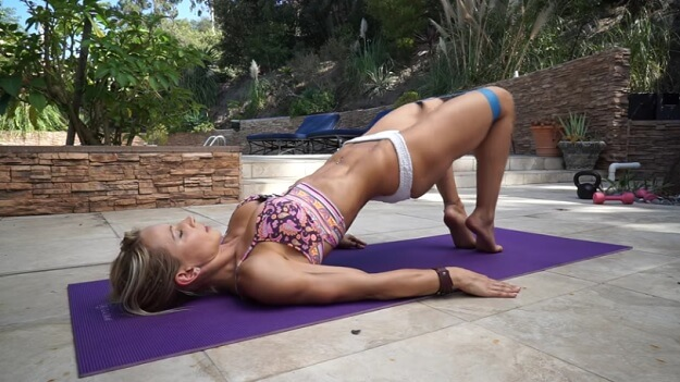 Short toning travel workout video
