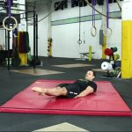 Gymnastic abs workout