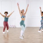 Cardio dance & barre workout video