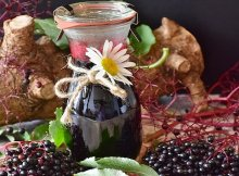 Homemade elderberry syrup recipe