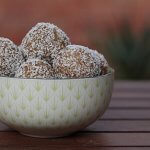 Nutty almond coconut turmeric snack balls recipe