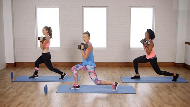 Cardio body sculpt workout video