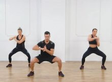 30-minute home Zumba cardio toning workout video