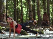 Sweat & tone full body yoga flow class video