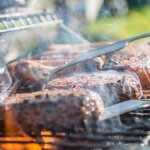 Herb-marinated grilled steak recipe