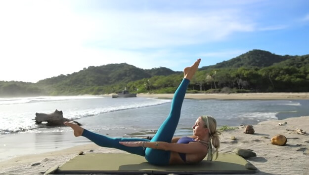 Core & Leg-Toning Mat Pilates workout video