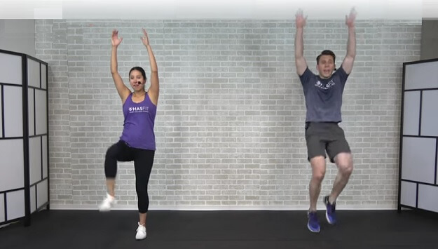 30-minute Tabata HIIT home workout video