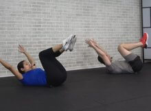 5-minute abs workout video