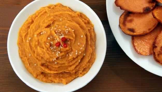 Paleo mashed sweet potatoes recipe