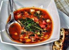 Detox vegetable soup recipe