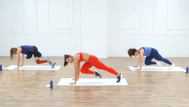 30-Minute no-equipment cardio HIIT workout video