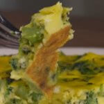 Keto broccoli pesto frittata recipe