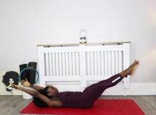Pilates toning class