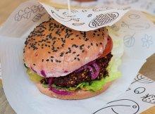 Meatless beet burgers recipe