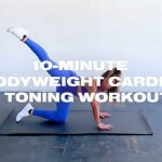 10-Minute Bodyweight Cardio & Toning workout video