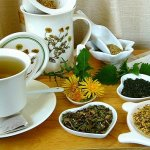 Herbal tea for liver health