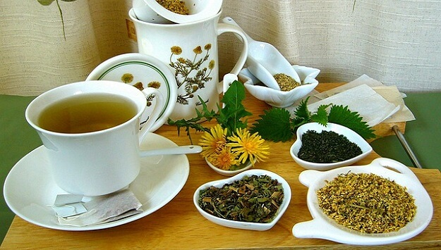 Herbal tea for liver health