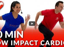 30-Minute low-impact cardio workout video