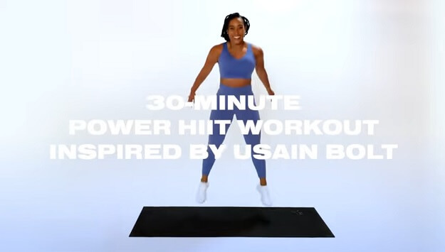 30-minute power HIIT workout video
