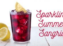 Sparkling summer sangria recipe