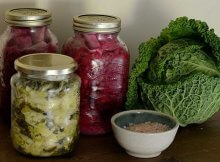 Homemade naturally fermented sauerkraut recipe