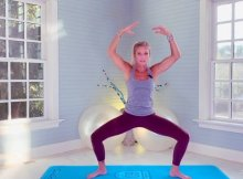 Barre anti-aging workout video