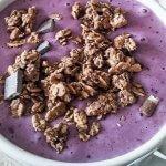 Mango Blueberry Lassi recipe