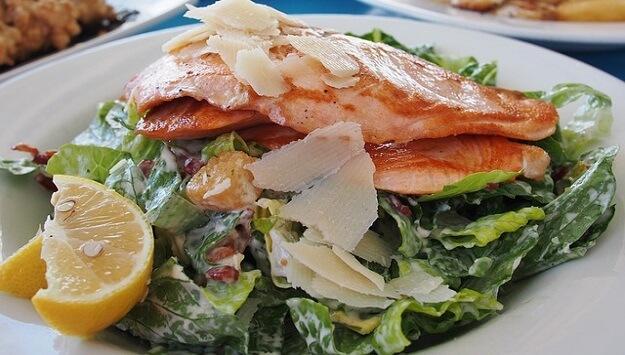 Wild salmon salad recipe