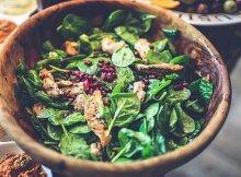 Kale pomegranate salad recipe